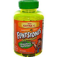 Flintstones, Жевательные конфеты, мультивитамин для детей, 150 конфет