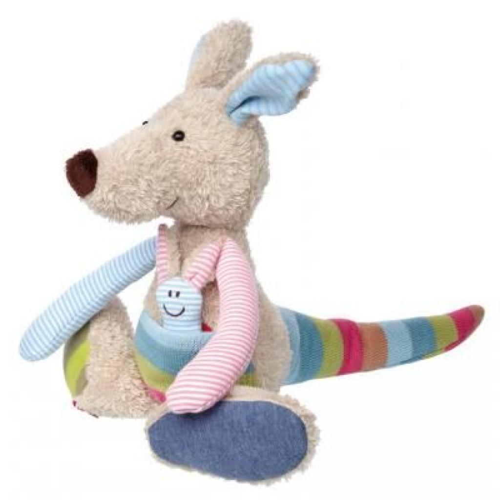 Мягкая игрушка sigikid Patchwork Sweety Кенгуру 28 см (38692SK)