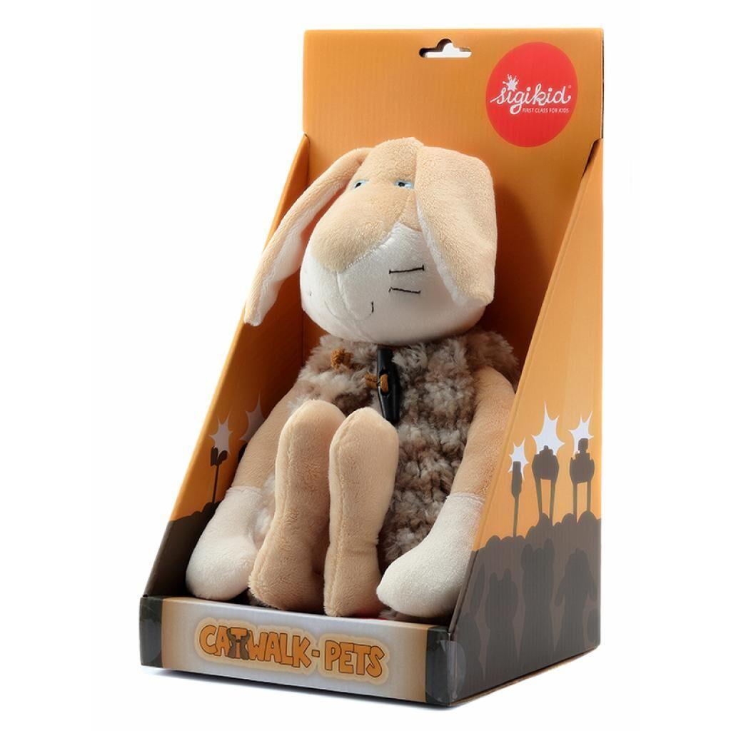 Мягкая игрушка sigikid Кролик в жупане 31 см (38779SK)