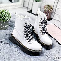 Ботинки женские белые , женская обувь