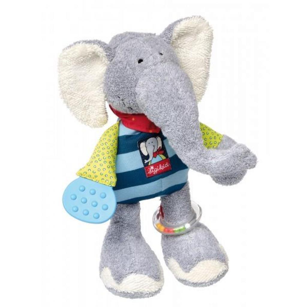 Мягкая игрушка sigikid интерактивный Слон 28 см (41464SK)