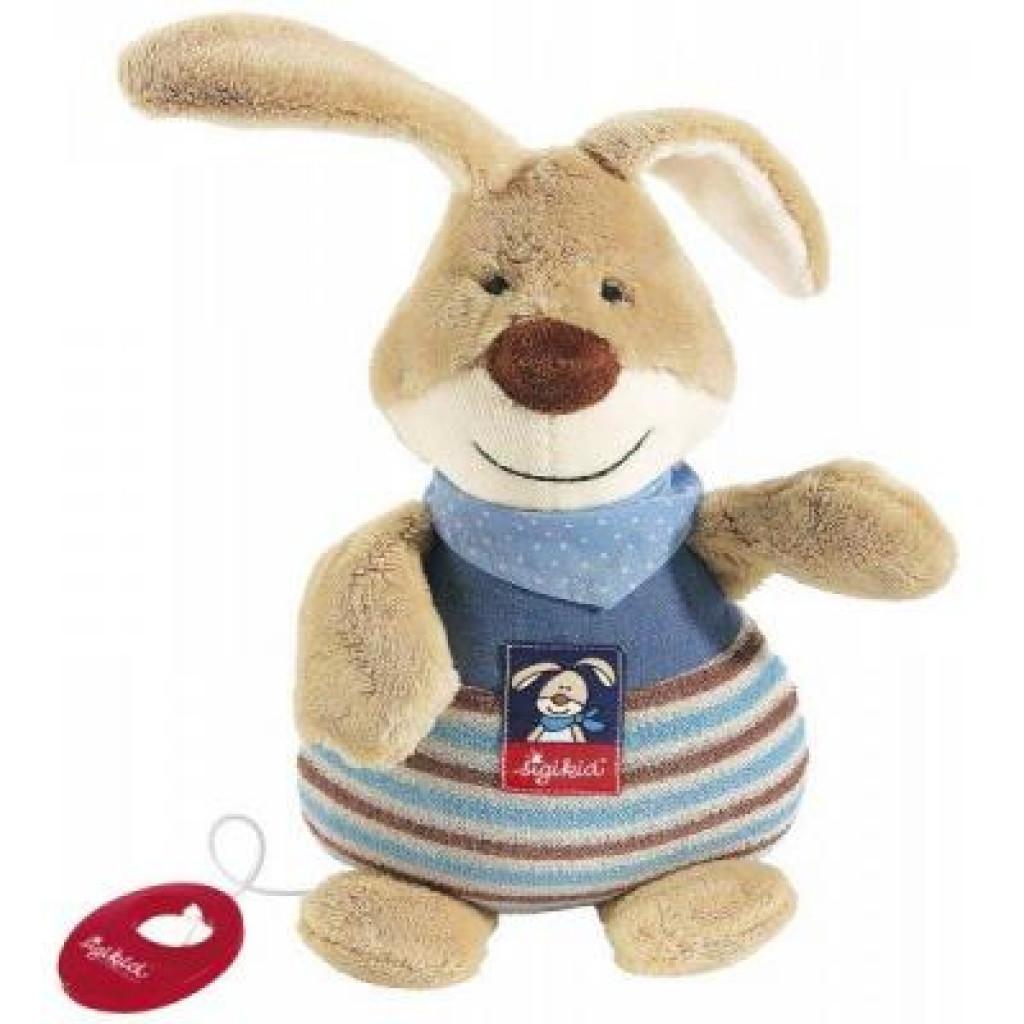 Мягкая игрушка sigikid музыкальный Кролик 25 см (47894SK)