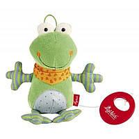 Мягкая игрушка sigikid музыкальная Лягушка 21 см (40781SK), фото 1