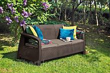 Набор садовой мебели Bahamas Love Seat Max из искусственного ротанга ( Allibert by Keter )