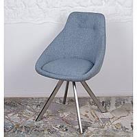 Toledo N (Толедо Эн) стул поворотный текстиль голубой