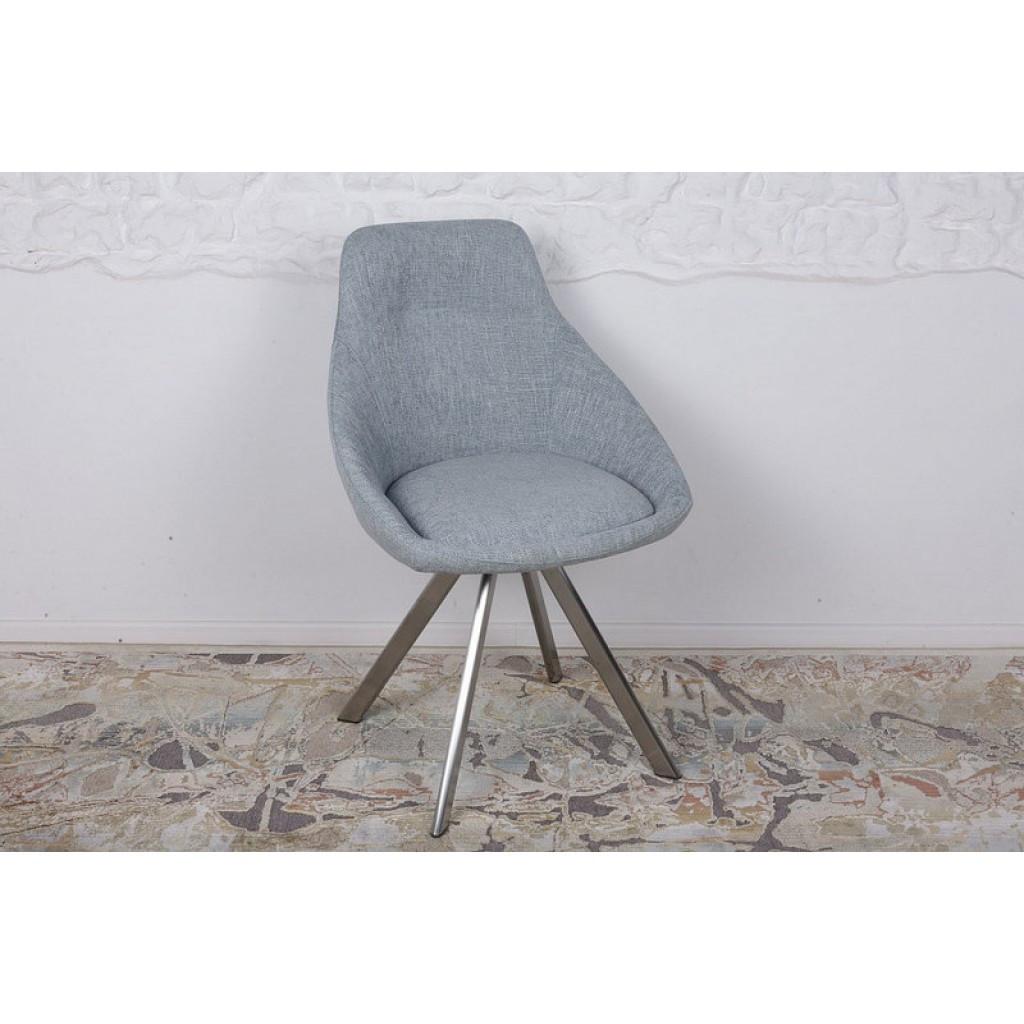 Toledo N (Толедо Эн) стул поворотный рогожка бледно-бирюзовый