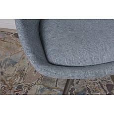 Toledo N (Толедо Эн) стул поворотный рогожка бледно-бирюзовый, фото 2