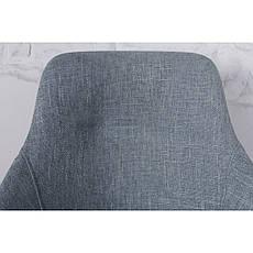 Toledo N (Толедо Эн) стул поворотный рогожка бледно-бирюзовый, фото 3