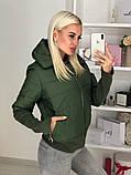 Куртка женская / плащевка, синтепон 150 / Украина 44-0173, фото 7