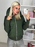 Куртка женская / плащевка, синтепон 150 / Украина 44-0173, фото 3