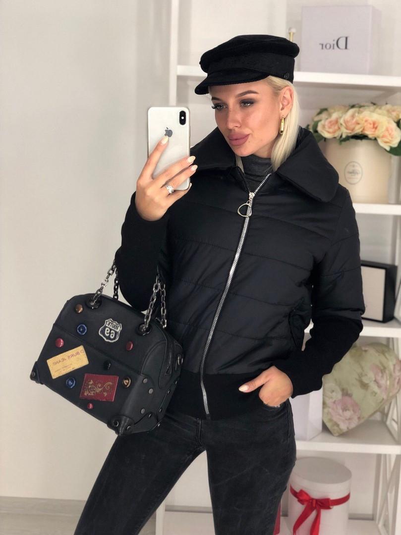 Куртка женская / плащевка, синтепон 150 / Украина 44-0173