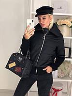 Куртка женская / плащевка, синтепон 150 / Украина 44-0173, фото 1