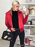 Куртка женская / плащевка, синтепон 150 / Украина 44-0173, фото 6