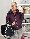Куртка женская / плащевка, синтепон 150 / Украина 44-0173, фото 8