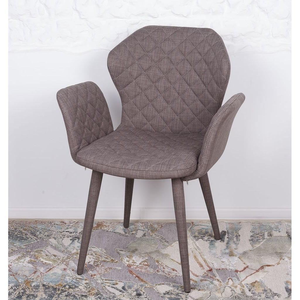 Valencia (Валенсия) кресло текстиль кофейный