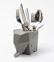Сушилка для посуды и столовых приборов Слон Gray