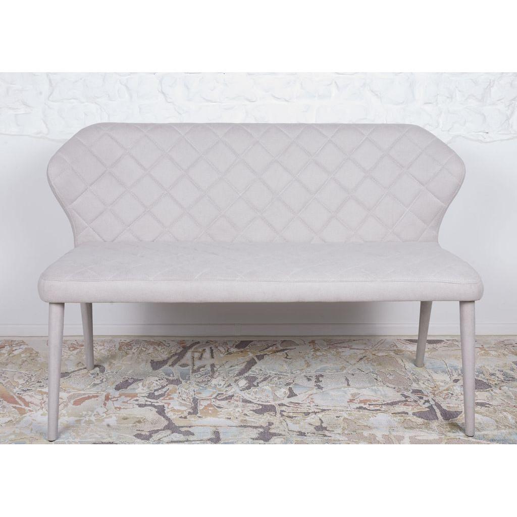 Кресло - банкетка VALENCIA (130*59*85 cm - текстиль) беж