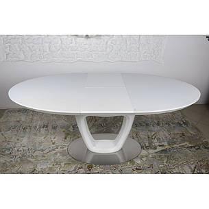 Vancouver (Ванкувер) стол раскладной 140-180 см белый, фото 2