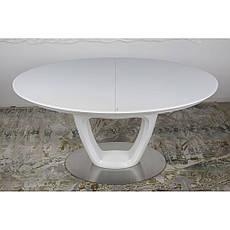 Vancouver (Ванкувер) стол раскладной 140-180 см белый, фото 3