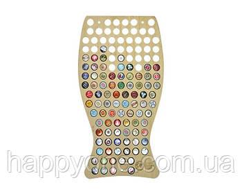 Копилка для пивных крышек Capsboard Beer Glass