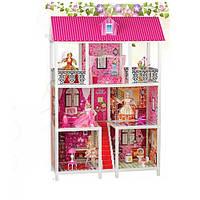 Кукольный Домик с мебелью для кукол типа Барби арт. 66885