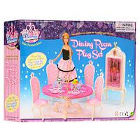 """Набор кукольной мебели для куклы Барби """"Столовая"""" арт. 1212"""