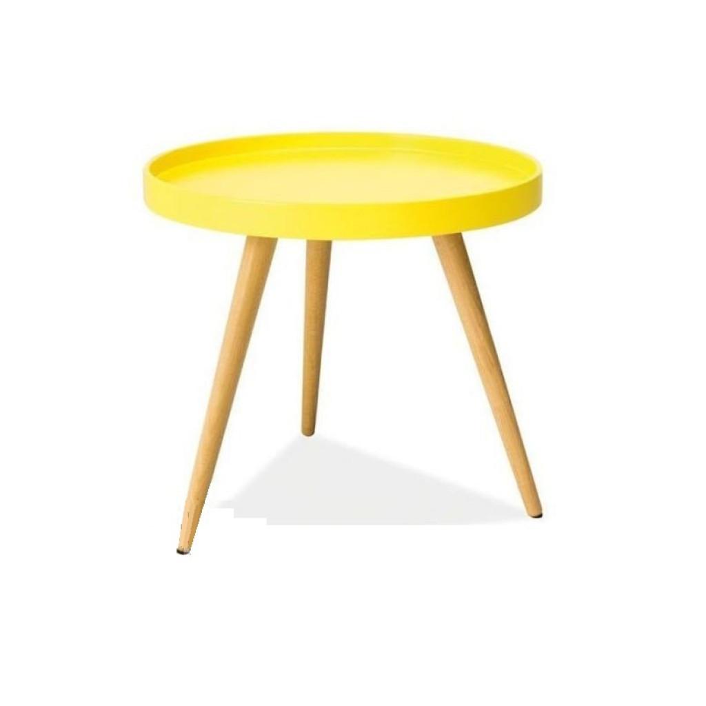 Tray T2 (Трэй Т2) кофейный столик жёлтый