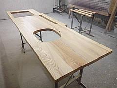 Столешница кухонная из массива ясеня