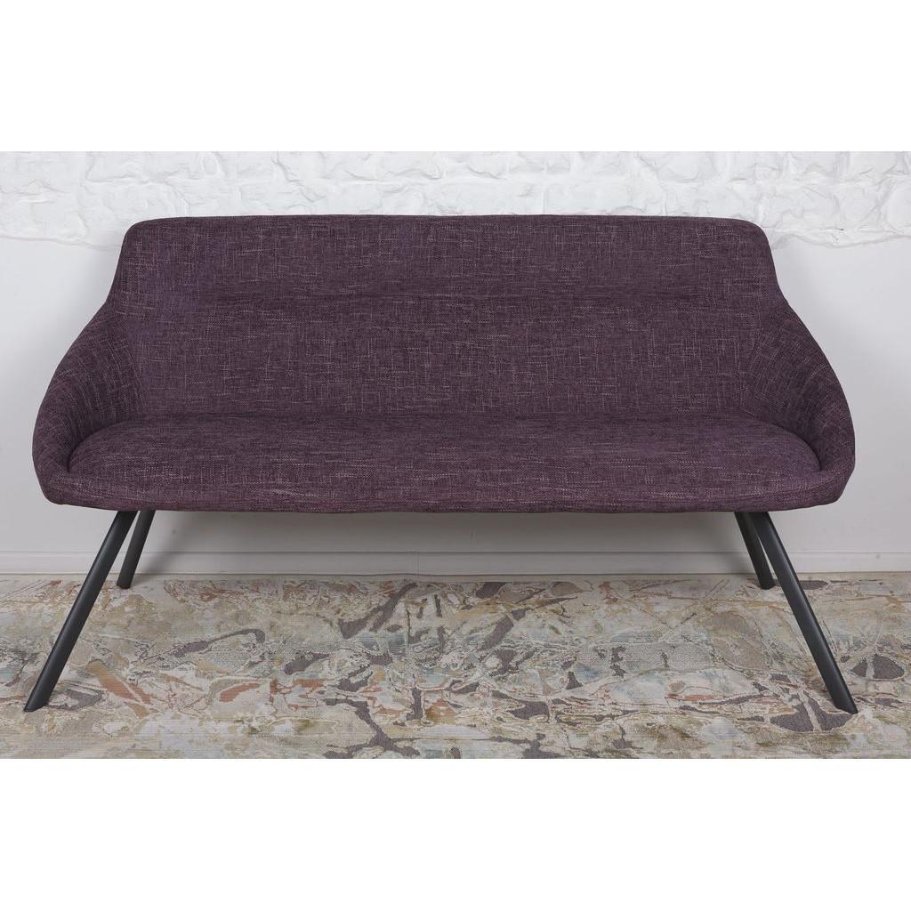 Toledo (Толедо) крісло-банкетка рогожка баклажан