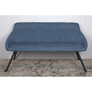 Toledo (Толедо) кресло-банкетка рогожка тёмно-голубой, фото 2
