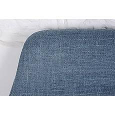 Toledo (Толедо) кресло-банкетка рогожка тёмно-голубой, фото 3