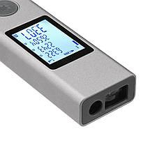 Интеллектуальный цифровой лазерный дальномер (лазерная рулетка) Xiaomi Duka/ATuMan LS-1 (Серый), фото 2