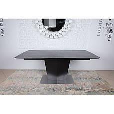 Michigan (Мичиган) стол раскладной 180-230 см керамика коричневый, фото 2