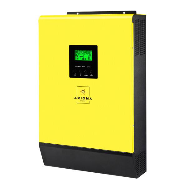 Мережевий інвертор сонячний з резервною функцією ISGRID-BF 3000 AXIOMA energy