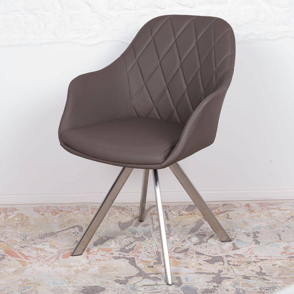 Almeria (Альмерия) кресло поворотное кожзам мокко