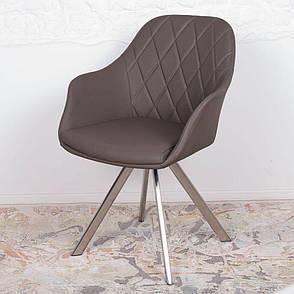 Almeria (Альмерия) кресло поворотное кожзам мокко, фото 2
