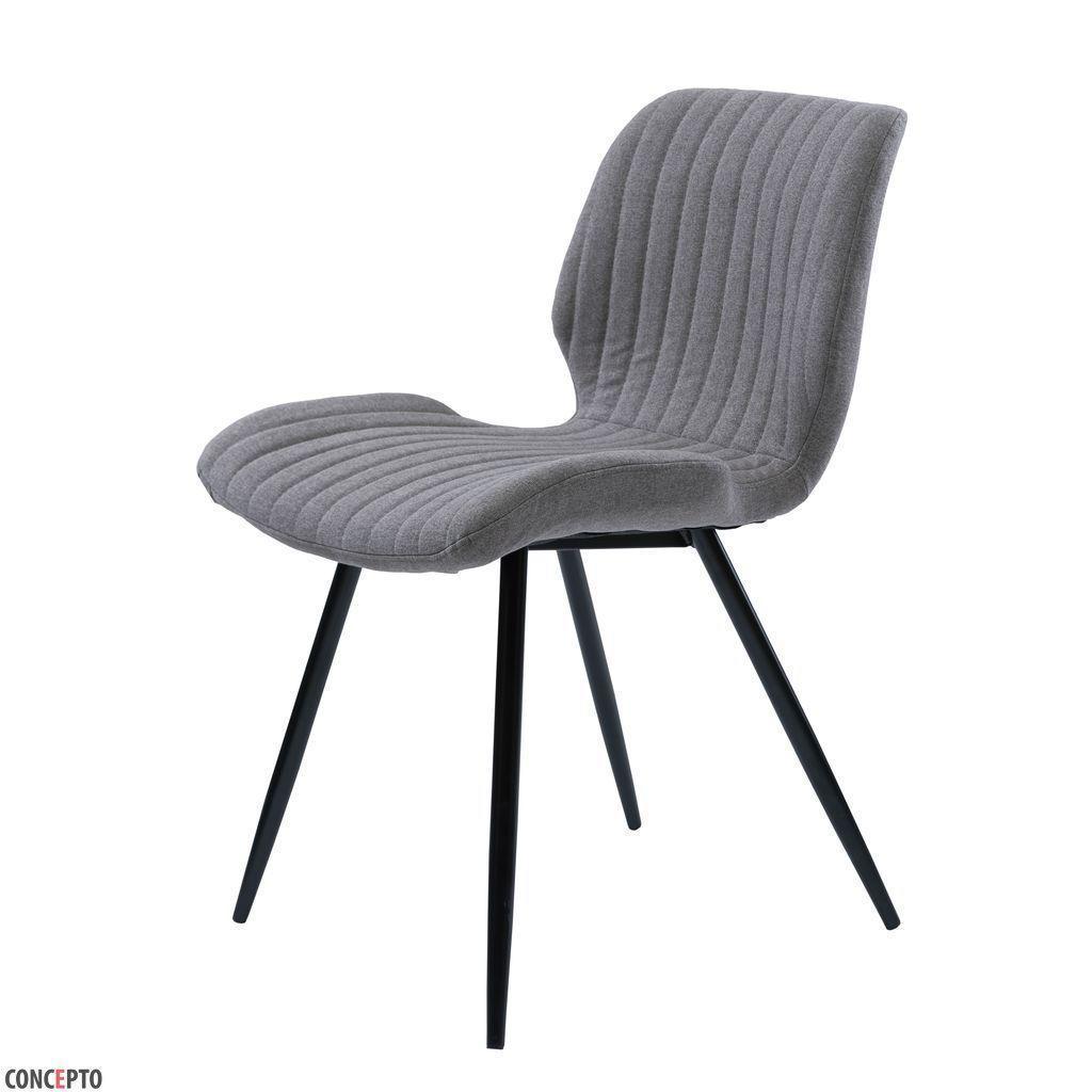 Trees (Триз) стул обеденный текстиль серый