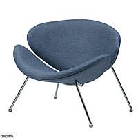 Foster (Фостер) кресло лаунж текстиль голубое небо, фото 1
