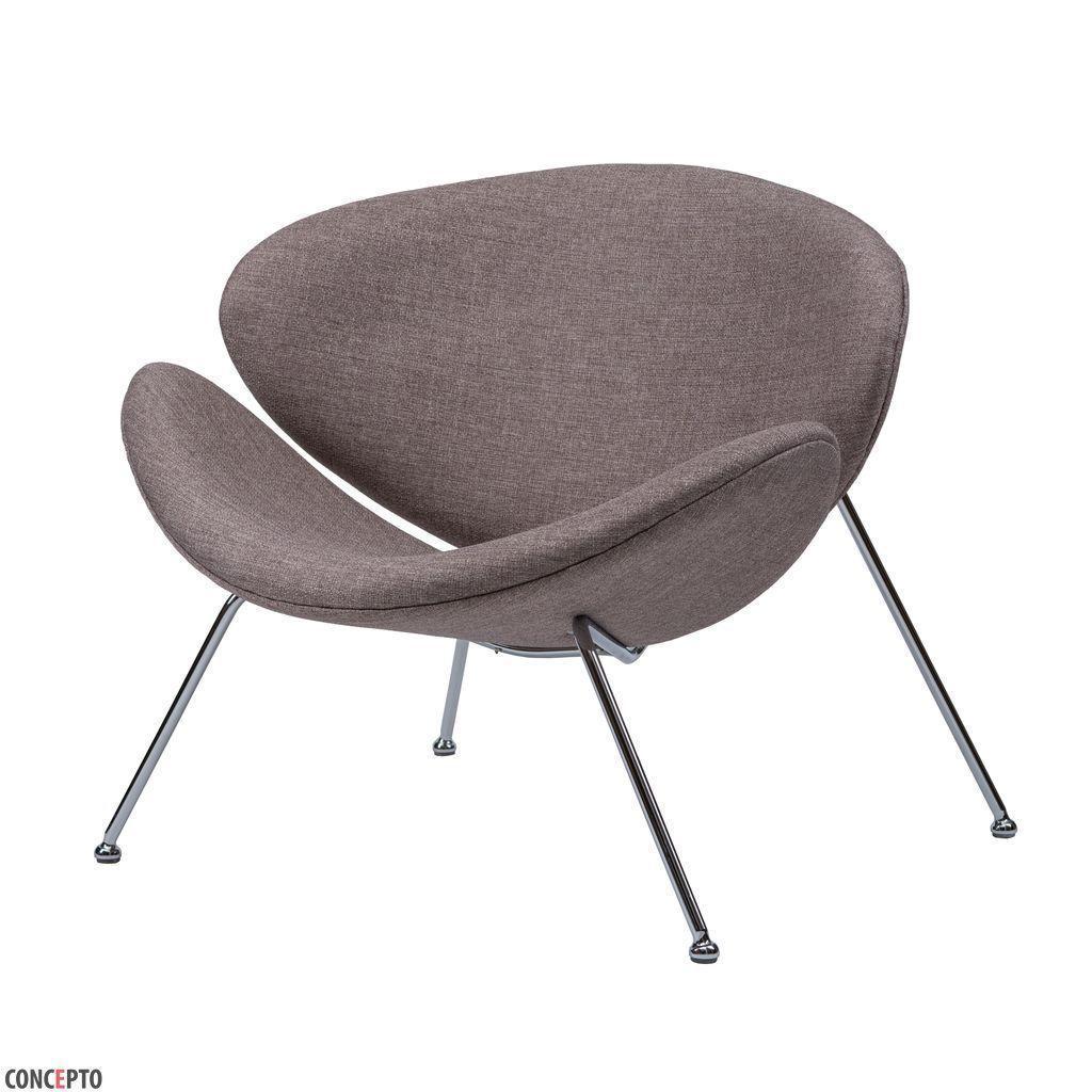 Foster (Фостер) кресло лаунж текстиль капучино, фото 1