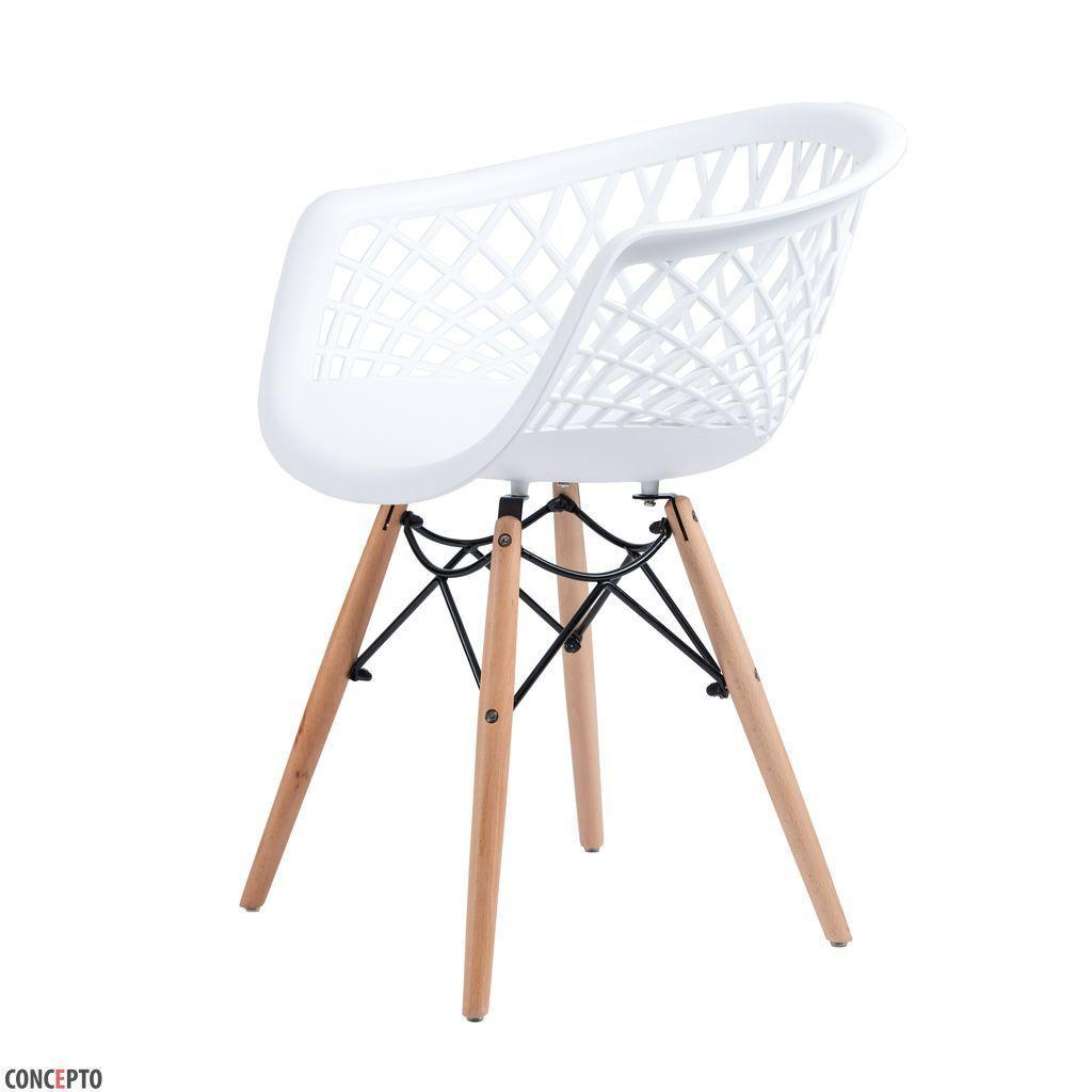 Lace (Лэйс) Concepto кресло пластиковое белое