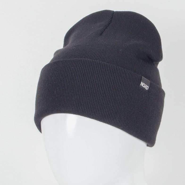 Молодежная шапка Рожки Nord черный