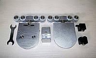 Система для раздвижных стеклянных дверей до 80 кг, фото 1