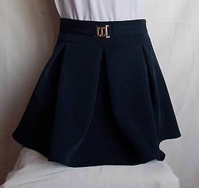 Школьная юбочка от производителя синяя