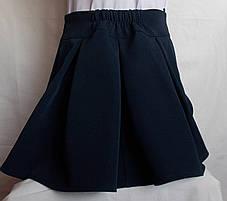 Школьная юбочка от производителя синяя, фото 2