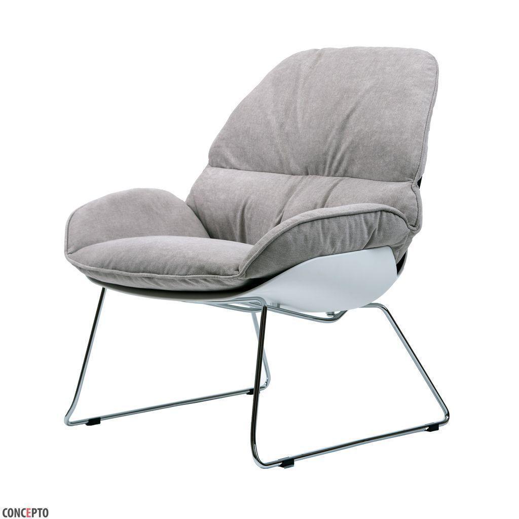 Serenity (Серенити) кресло лаунж светло-серое