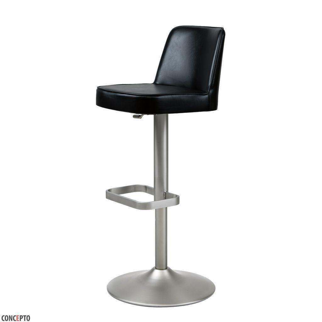 Hardy (Харди)Concepto регулируемый барный стул кожзам чёрный