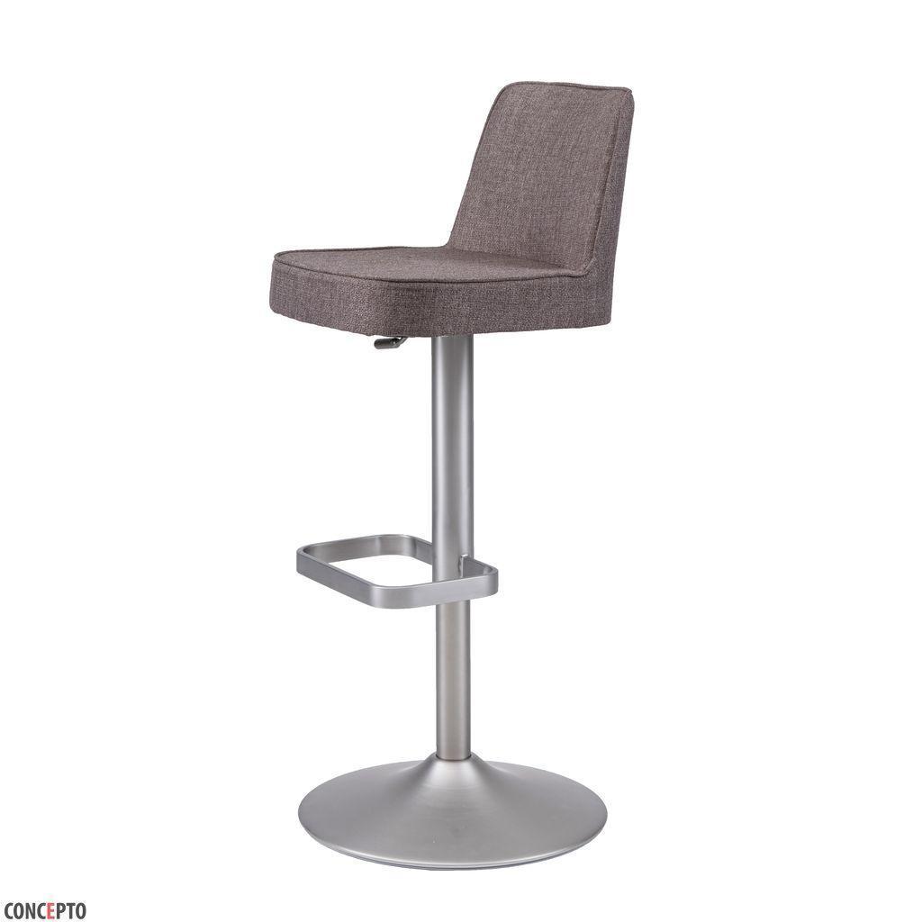 Hardy (Харди)Concepto регулируемый барный стул текстиль капучино