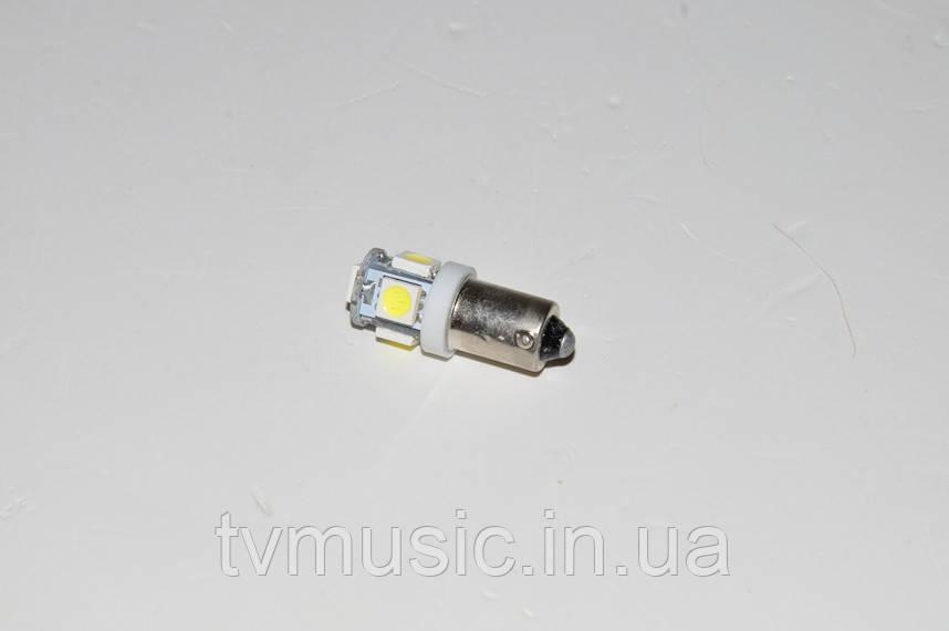 Светодиодная лампочка BA9S-5050-5SMD White