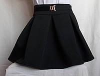 Школьная юбочка от производителя черная