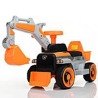 """Электромобиль толокар """"Трактор с ковшом"""" Bambi (M 4144L-7) 2 в 1, управляемый ковш"""